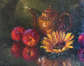 Sunflower 12x16 Original Painting - Michael Gerry