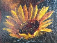 Sunflower 12x16 Original Painting by Michael Gerry - 5