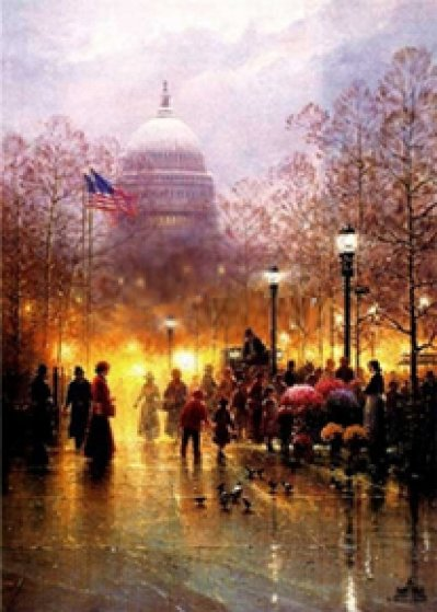 American Dream 1993 Limited Edition Print by G. Harvey