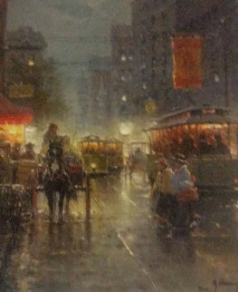 Old Dallas Main Street 2008 Limited Edition Print - G. Harvey