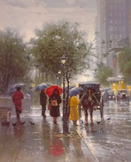 October Showers 1994 Limited Edition Print - G. Harvey