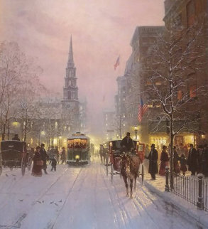 A Season of Hope And Dreams 1993 Limited Edition Print by G. Harvey