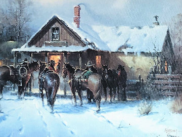 Cowboy Country Club 2002  Limited Edition Print - G. Harvey