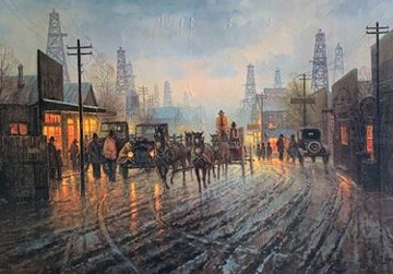 Oil Patch AP 1981 Limited Edition Print by G. Harvey