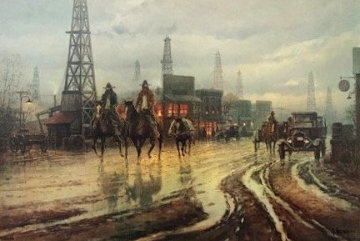 Boomtown Drifters 1979 Limited Edition Print - G. Harvey