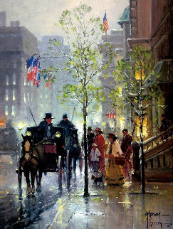 Along Park Avenue 2000 Limited Edition Print - G. Harvey