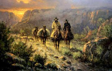 Spring in the Canyon AP 2001 Limited Edition Print by G. Harvey