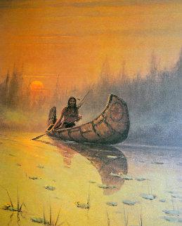 Untitled (Silent Hunter) 1978 Limited Edition Print - G. Harvey