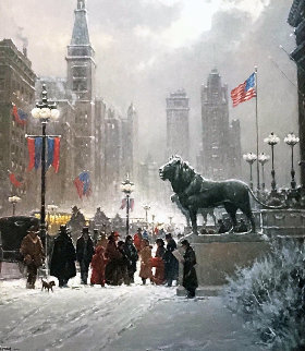 Exhibition Day - Chicago 1995 Limited Edition Print - G. Harvey