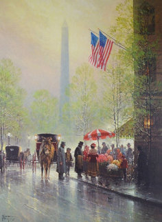 Pinnacle of Freedom 1993 Limited Edition Print - G. Harvey