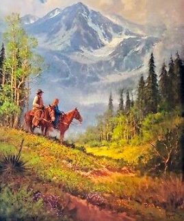 Reflecting His Majesty 1995 Limited Edition Print - G. Harvey