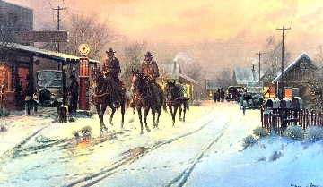 Only Working Horses 1983 Limited Edition Print - G. Harvey