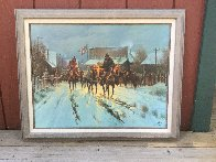 Trading at the General Store 1983 Limited Edition Print by G. Harvey - 1