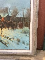 Trading at the General Store 1983 Limited Edition Print by G. Harvey - 2