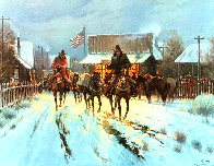 Trading at the General Store 1983 Limited Edition Print by G. Harvey - 0