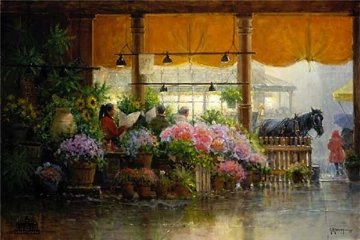 Pike Place Public Market 1998 Limited Edition Print by G. Harvey