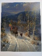 Jingle Bells And Powder Snow 1999 Limited Edition Print by G. Harvey - 1