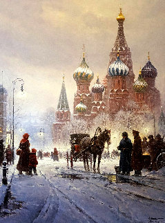Cathedral of St. Basil - Red Square AP 1991 Limited Edition Print - G. Harvey