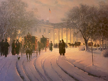 An Evening With the President AP 1990 Limited Edition Print by G. Harvey