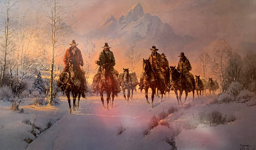 Men of the Great Northwest AP 1993 Limited Edition Print by G. Harvey