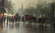 City Showers 1994 Limited Edition Print by G. Harvey - 2