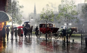 City Showers 1994 Limited Edition Print by G. Harvey