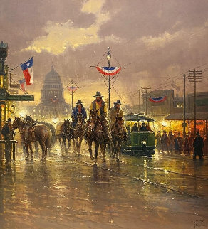 Texas Independence 1997 Limited Edition Print - G. Harvey