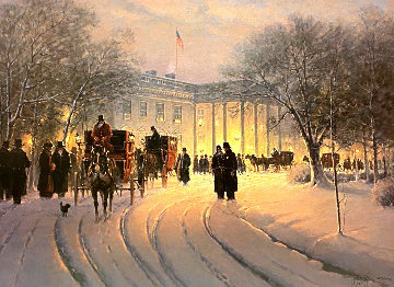 Evening With the President 1990 Limited Edition Print - G. Harvey