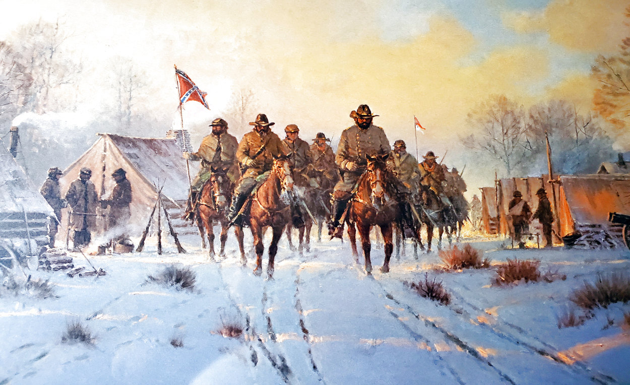 Jackson's Winter Campaign 1991 Limited Edition Print by G. Harvey