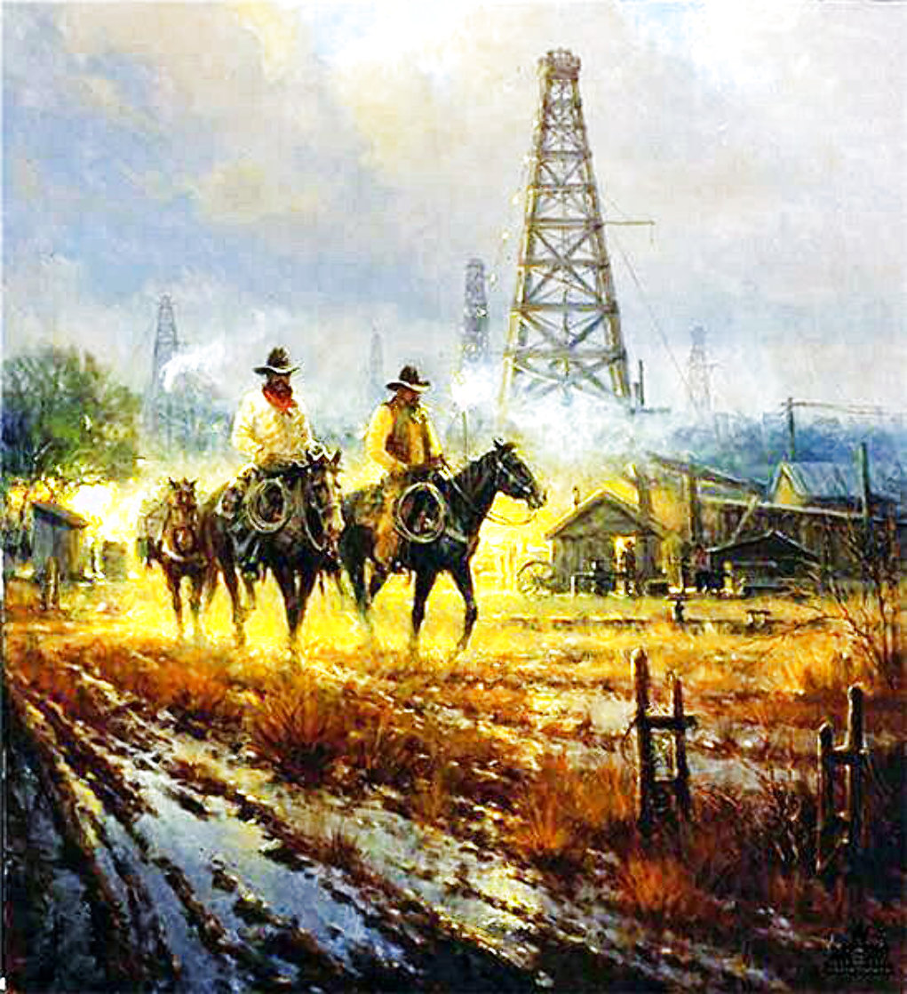 A Different Kind of Lease 1998 Limited Edition Print by G. Harvey