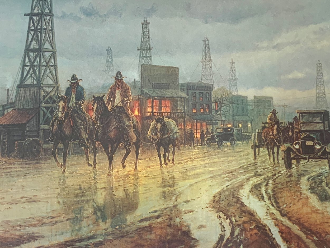 Boomtown Drifters Limited Edition Print by G. Harvey
