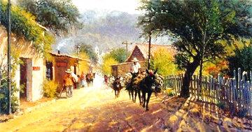 Ixtapan Village 1983 Limited Edition Print - G. Harvey