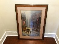 Wall Street, New York 1989 Limited Edition Print by G. Harvey - 1