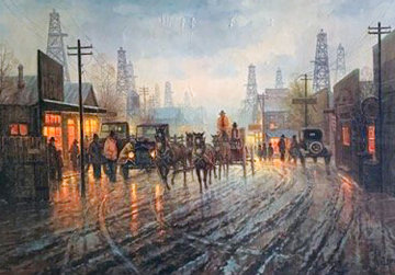 Oil Patch 1981 Limited Edition Print - G. Harvey