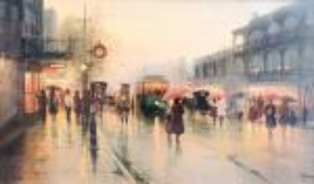 On the Streets of New Orleans 1981 Limited Edition Print by G. Harvey