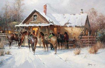 Cowboy Country Club 2002 Limited Edition Print - G. Harvey