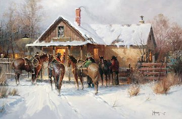 Cowboy Country Club 2002 Limited Edition Print by G. Harvey