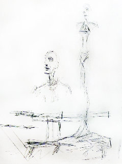 Search 1965 Limited Edition Print by Alberto Giacometti