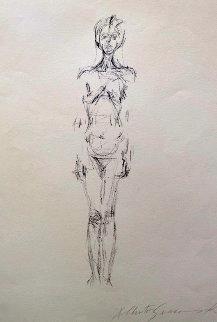 Nue Debout 1961  Limited Edition Print - Alberto Giacometti