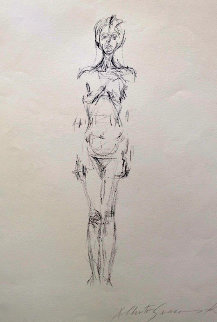 Nue Debout 1961  Limited Edition Print by Alberto Giacometti