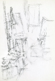 Derriere Le Miroir 1957 Limited Edition Print - Alberto Giacometti