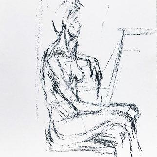 Derriere Le Miroir 127 1961 Limited Edition Print - Alberto Giacometti
