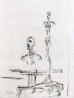 Dans l\'atelier 1965 Limited Edition Print - Alberto Giacometti