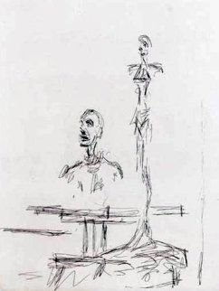 Dans l'atelier 1965 Limited Edition Print by Alberto Giacometti