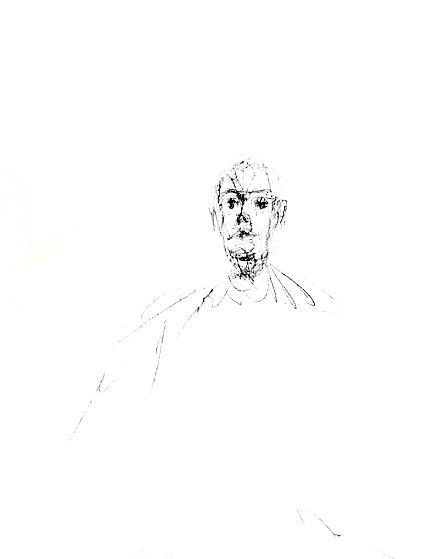 Quarantacinque Disegni  1963 Limited Edition Print by Alberto Giacometti