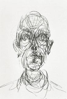Head of a Man 1961 Limited Edition Print - Alberto Giacometti