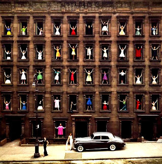 Models in the Window 1960 Limited Edition Print - Ormond Gigli