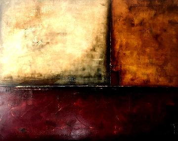 Untitled Painting 2014 48x60 Super Huge Original Painting - Stephen Gillberry