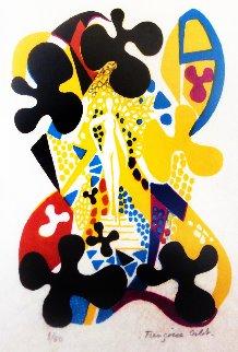 Sur La Pierre 1980 Limited Edition Print - Francoise Gilot