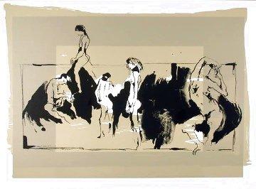 Groupo De Figuras Desnudas 1979 Limited Edition Print - Gino Hollander